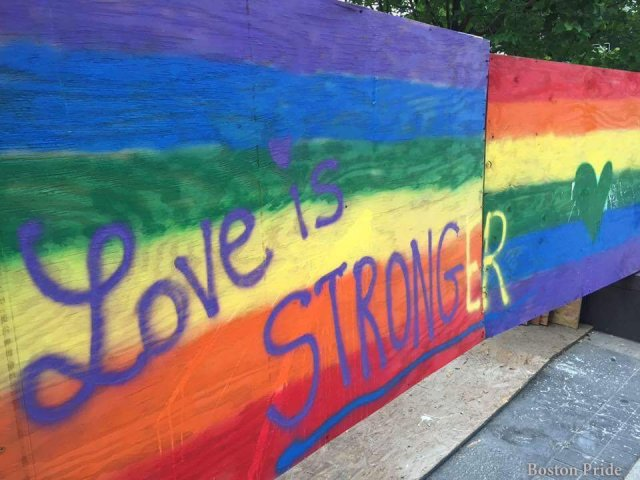 Love is Stronger rainbow